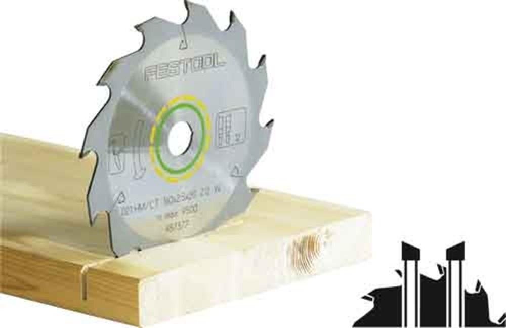 Standaard zaagblad 230X2,5X20 W24 voor Festool HK85 (ho)