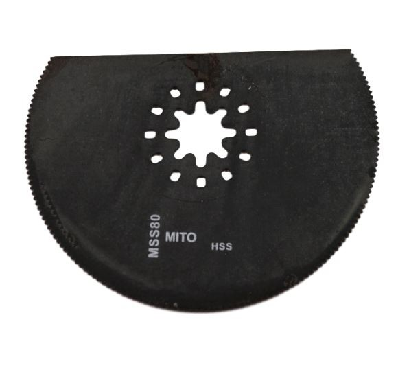 Multimaster zaagblad hss 80 mm hout kunststof metaal
