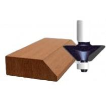 afschuiningsfrees met geleidewiel Ø13mm H12,7mm